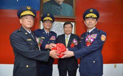 警察局新任局長上任 楊明州期許大高雄警政再創新局。(特派員林惠貞翻攝)